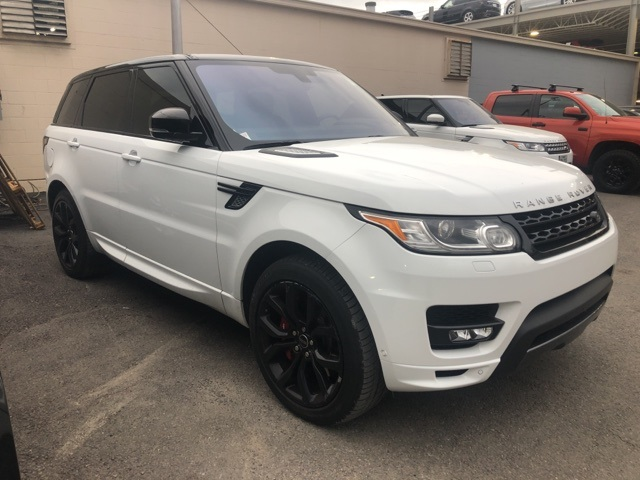 Pre Owned 2016 Land Rover Range Sport 5 0l V8 Supercharged Autobiography 4d Utility In Dallas D19494a Jaguar